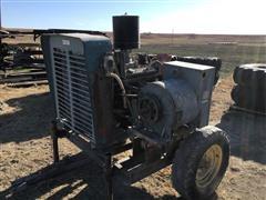 Chevrolet 350 Engine W/generator (INOPERABLE)