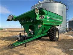 2013 J&M 1130-20 Grain Cart
