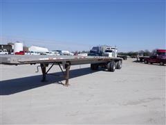 1996 Benson AF489650 48' Aluminum Spread Axle Flatbed Trailer