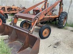 1930 Allis-Chalmers WD 2WD Antique Tractor & Loader