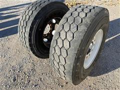 Bridgestone M854 Steel Rims W/Tires