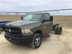 2014 Dodge RAM 3500 Dually Cab & Chassis Pickup