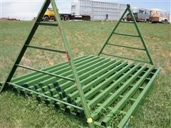 Powder River Unused 7.5' X10' Drive-Over Cattle Guard W/Wings
