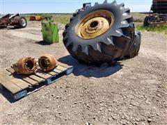CO-OP 24.5-32 Dual Tires & Hubs