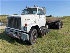 1979 GMC Brigadier T/A Flatbed Truck
