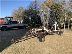 Traveling Irrigation Gun On Running Gear