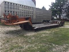 1967 Rogers T/A RGN Lowboy Trailer
