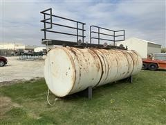 Stationary Steel 3-Compartment 3000 Gallon Kerosene Tank