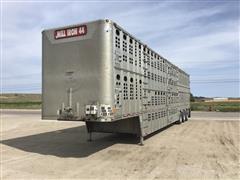 2009 Wilson PSDCL-404 Quad/A Livestock Trailer