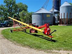 Westfield MK 100-61 Grain Auger W/Swing Hopper