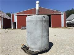 Insulated 550-Gal Feed Storage Tank