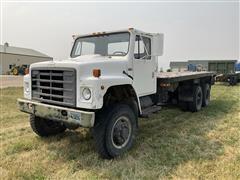 1986 International S1900 T/A 6x6 Flatbed Truck