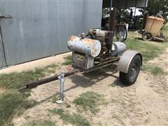 Deutz /Lima 12 KW Portable Generator Trailer