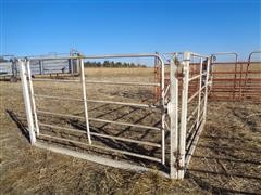 Daniels Portable Heavy Duty Low Level Arch Corral Gates