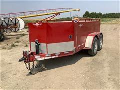 2012 LDJ Thunder Creek T/A Fuel Trailer