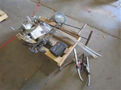 Mathey Dearman ISA Saddle Machine, Boone KF100 UT Tester, Gear Puller & Misc Tools