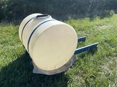 Front Mount Auxiliary Poly Tank