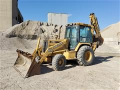 1994 John Deere 310D MFWD Loader Backhoe
