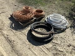 120 Lbs Of Copper Tubing And Insulated HVAC Line Sets
