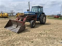 1981 Ford TW-20 2WD Tractor & Loader