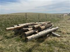 Spruce And Fir Logs