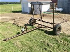 Shop Built Pull-Type Bale Unroller