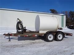 T/A 1000 Gal Fuel Tender Trailer
