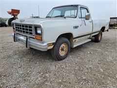 1985 Dodge Power Ram W150 4x4 Pickup