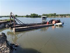 Sand & Gravel Dredge Barge
