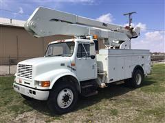 2000 International 4700 50' Bucket Truck
