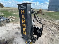 Danuser SM40 Hammer Hydraulic Post Pounder
