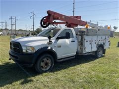 2012 RAM 5500 Heavy Duty 4x4 Bucket Truck