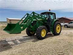 2013 John Deere 6150M MFWD Tractor W/H360 Loader