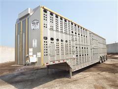 2014 Merritt Cattle Drive Quad/A Livestock Trailer