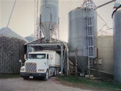 Butler 1000 Bushel Overhead Grain Bin & Support Structure