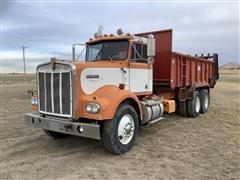 1975 Kenworth W900 T/A Manure Spreader Truck