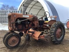 Allis-Chalmers C 2WD Tractor W/Mower
