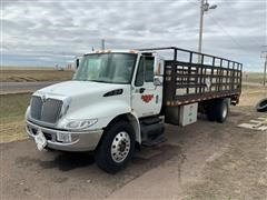 2003 International 4300 4x2 Flatbed Truck (Not Operational)