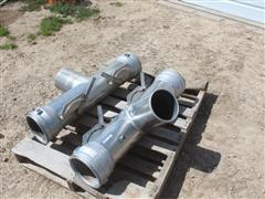 Aluminum Irrigation Valve T's
