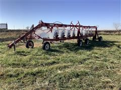 2019 Rowse W18-49A 18 Wheel Rake W/kicker Wheels
