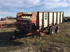 Meyer Forage Wagon For Parts