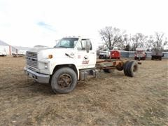 1991 Ford F800 S/A Cab & Chassis