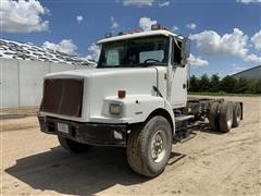 1999 Volvo Conventional WG64 T/A Cab Chassis