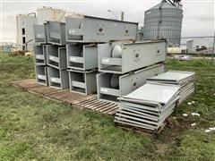 GSI 110' Enclosed Belt Conveyor W/Covers