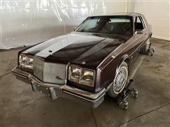 1985 Buick Riviera 2 Door Coupe