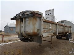 1991 Load King SFT3732 T/A End Dump Trailer