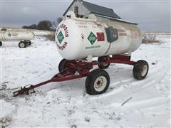 Tote WS76 1000 Gallon Anhydrous Nurse Tank