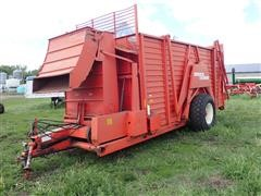 Hesston 60A Stackhand Flail Stacker