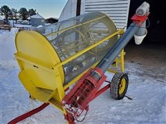 Snowco Portable Grain Cleaner W/Auger