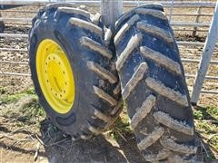 Michelin 420-90R30 Tires And Rims
